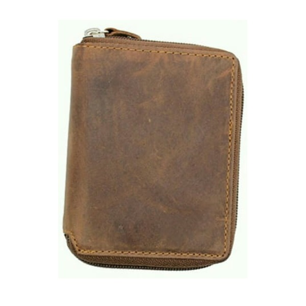 Black Bifold Leather Material Wallet Keep Calm and Call Dad Design-020